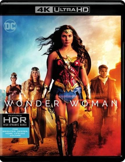 4K Wonder Woman Movie