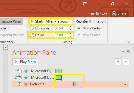 Animation Advanced Timeline Pane