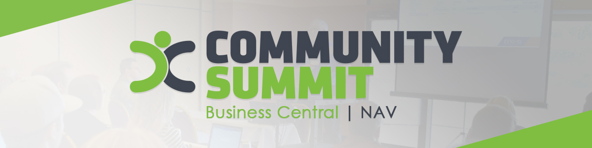 Community Summit Banner