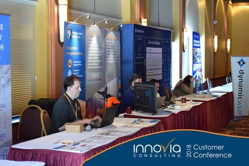 Innovia Conference 2018 ISV Tables