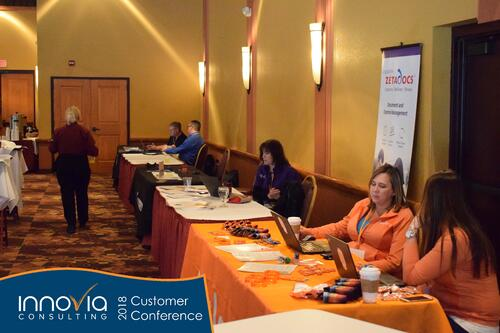 Innovia Conference 2018 ISV Tables 2