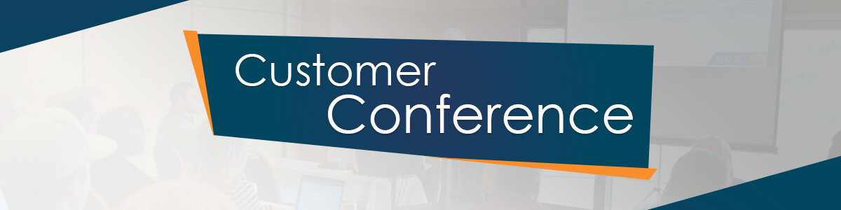 Customer Conference Banner