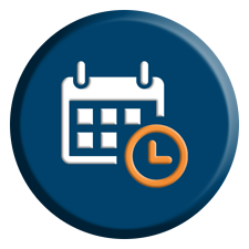 Customer Conference Schedule Icon