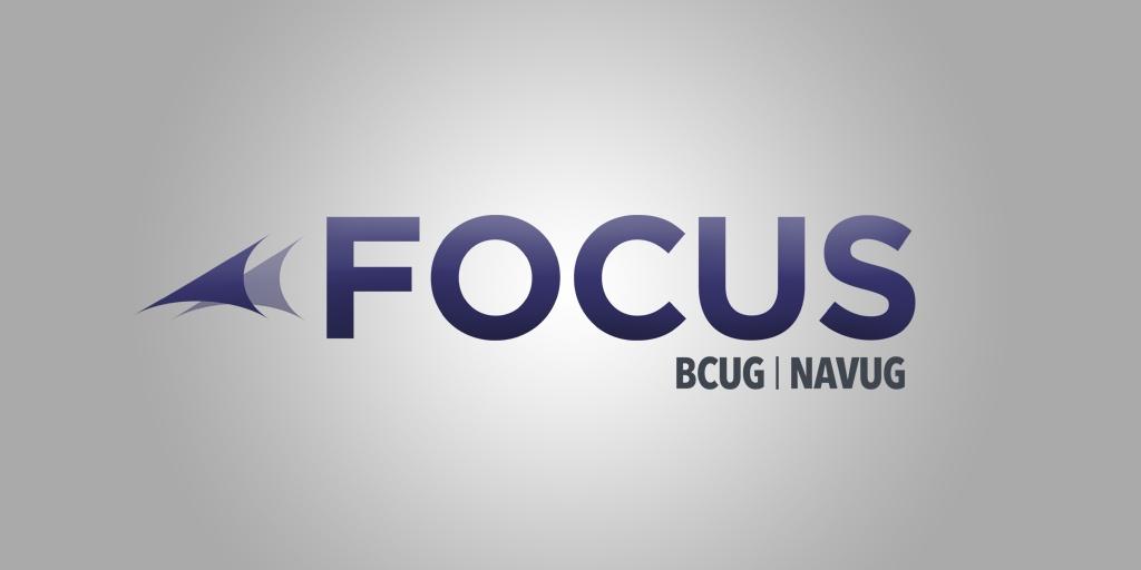 BCUG/NAVUG Focus