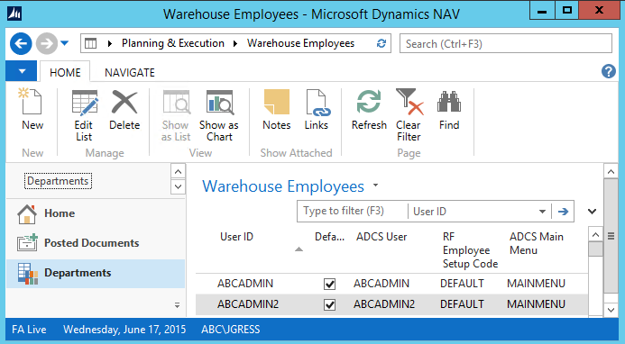 Automated Data Capture System Setup in Dynamics NAV 3