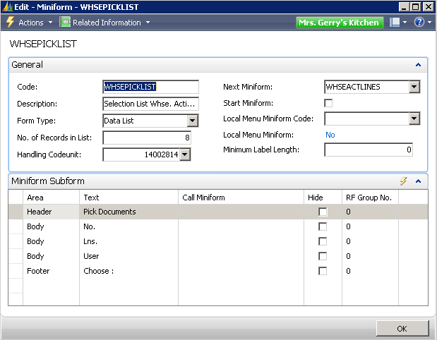 Automated Data Capture System Setup in Dynamics NAV 6