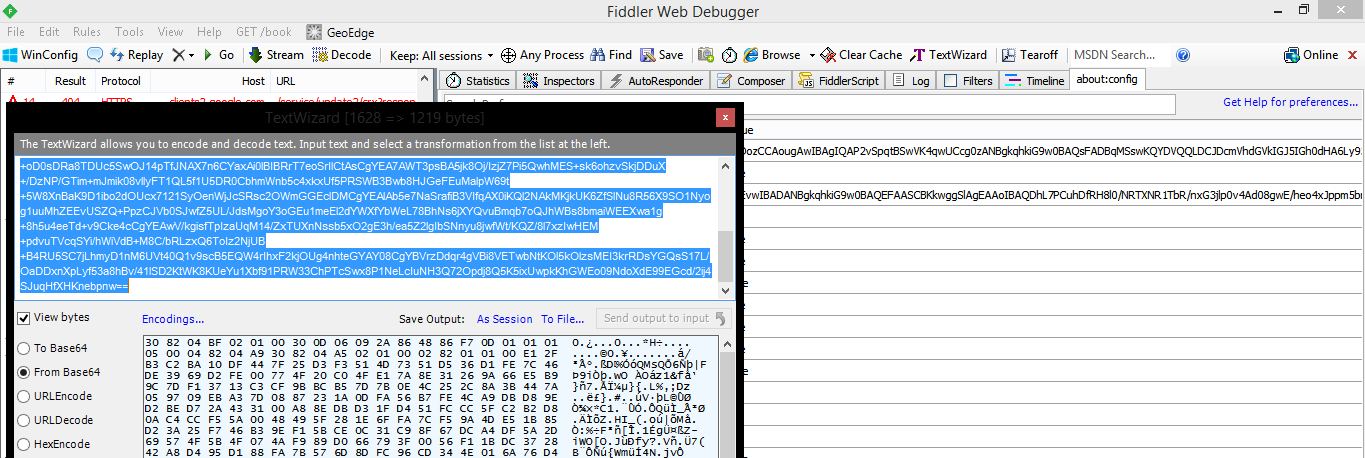 Deciphering Simplicity with Wireshark and Fiddler 7