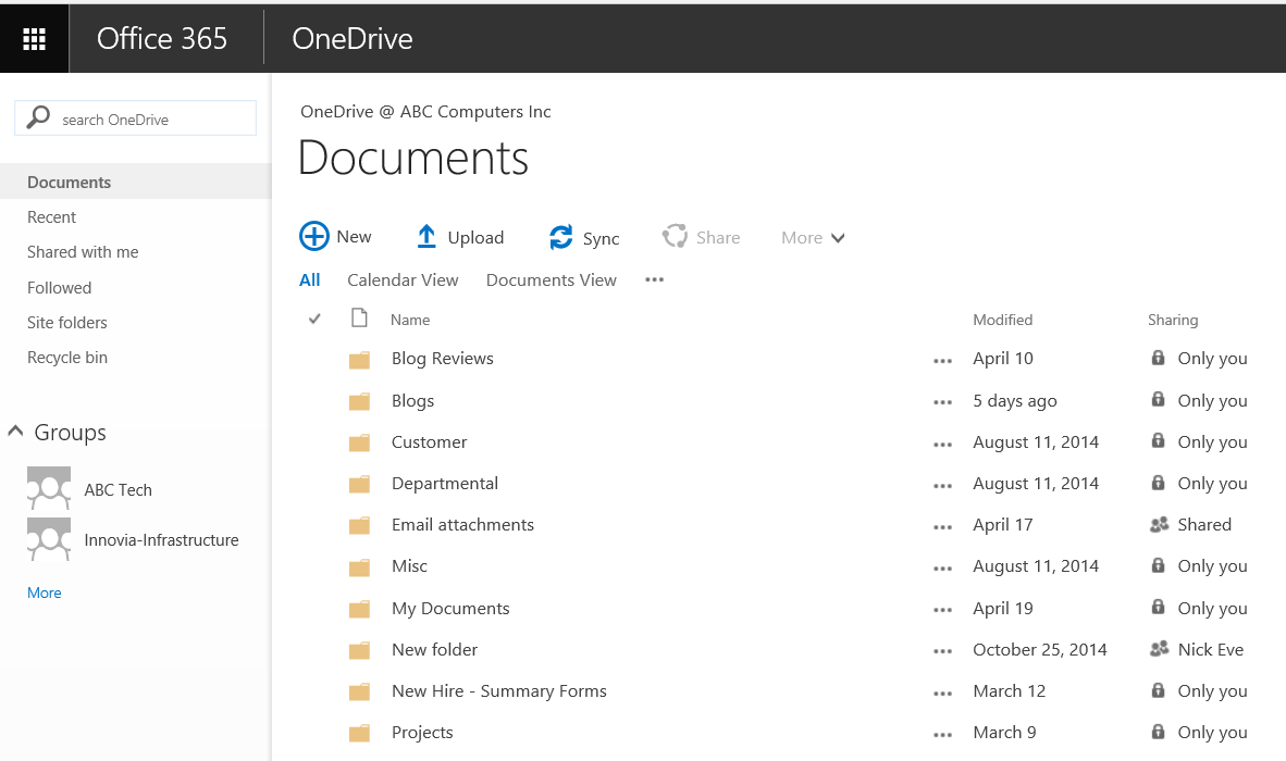 OneDrive for Business 1