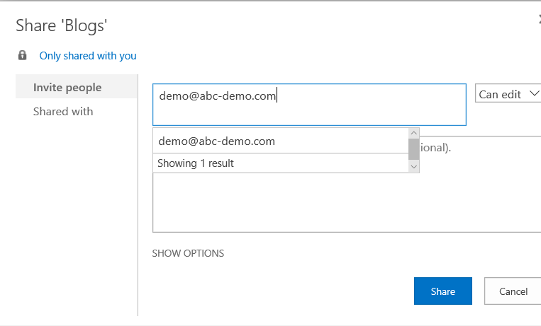 OneDrive for Business 5