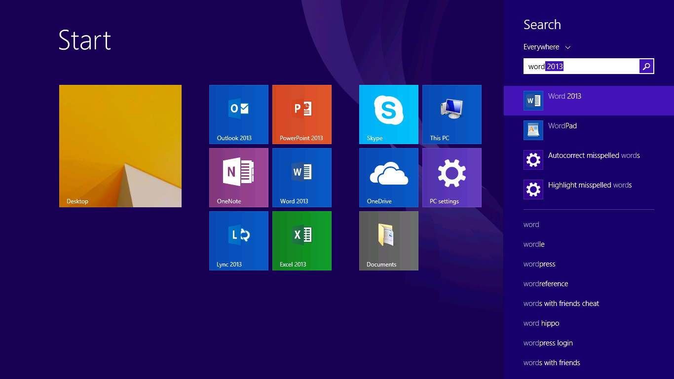 Why the Windows 8 Start Screen is better than old fashioned menus 1