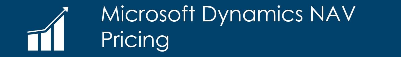 Microsoft Dynamics NAV Pricing
