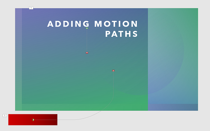 Motion Path coming in from bottom