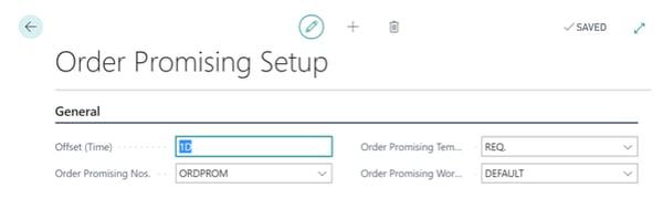 Order Processing Setup