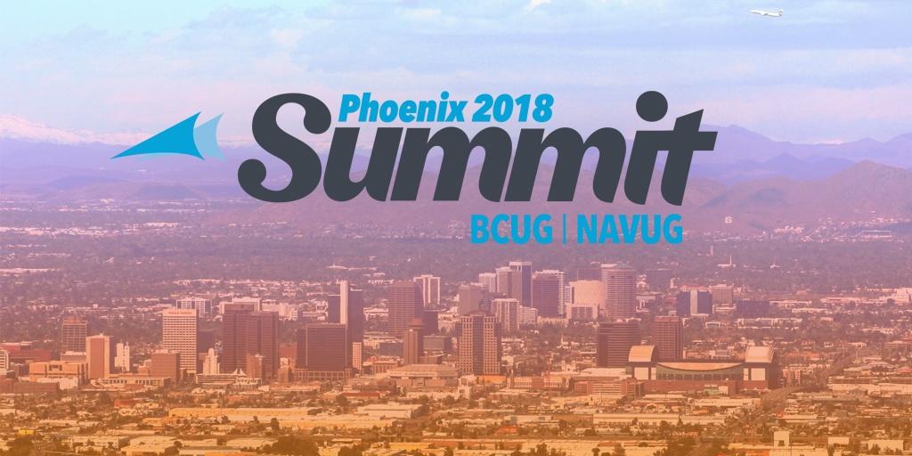 NAVUG/BCUG Summit 2018