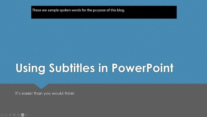 Top Overlaid Subtitles