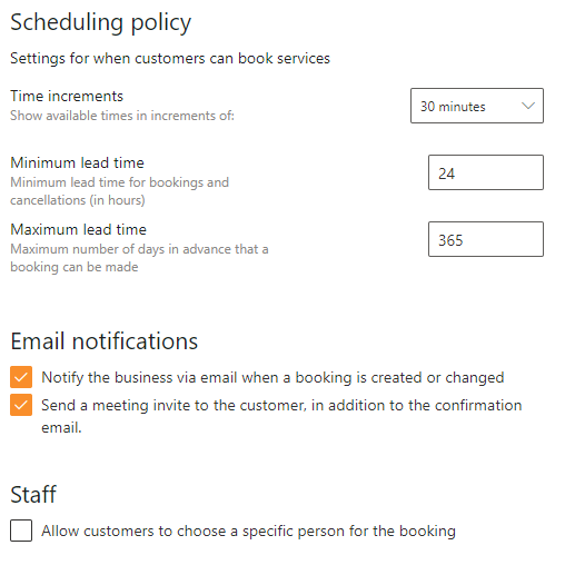 scheduling-policy