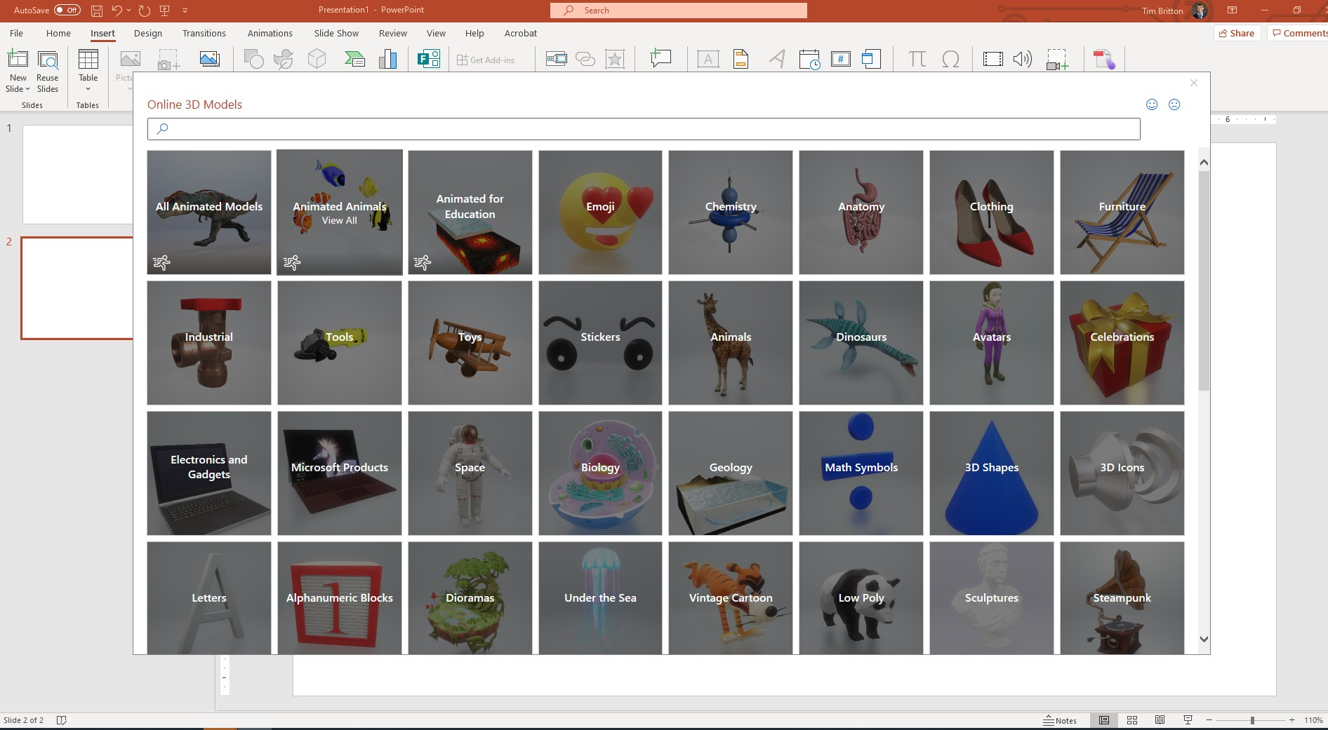 Do You Need Images that Pop in Your PowerPoint? Try New 3D Models
