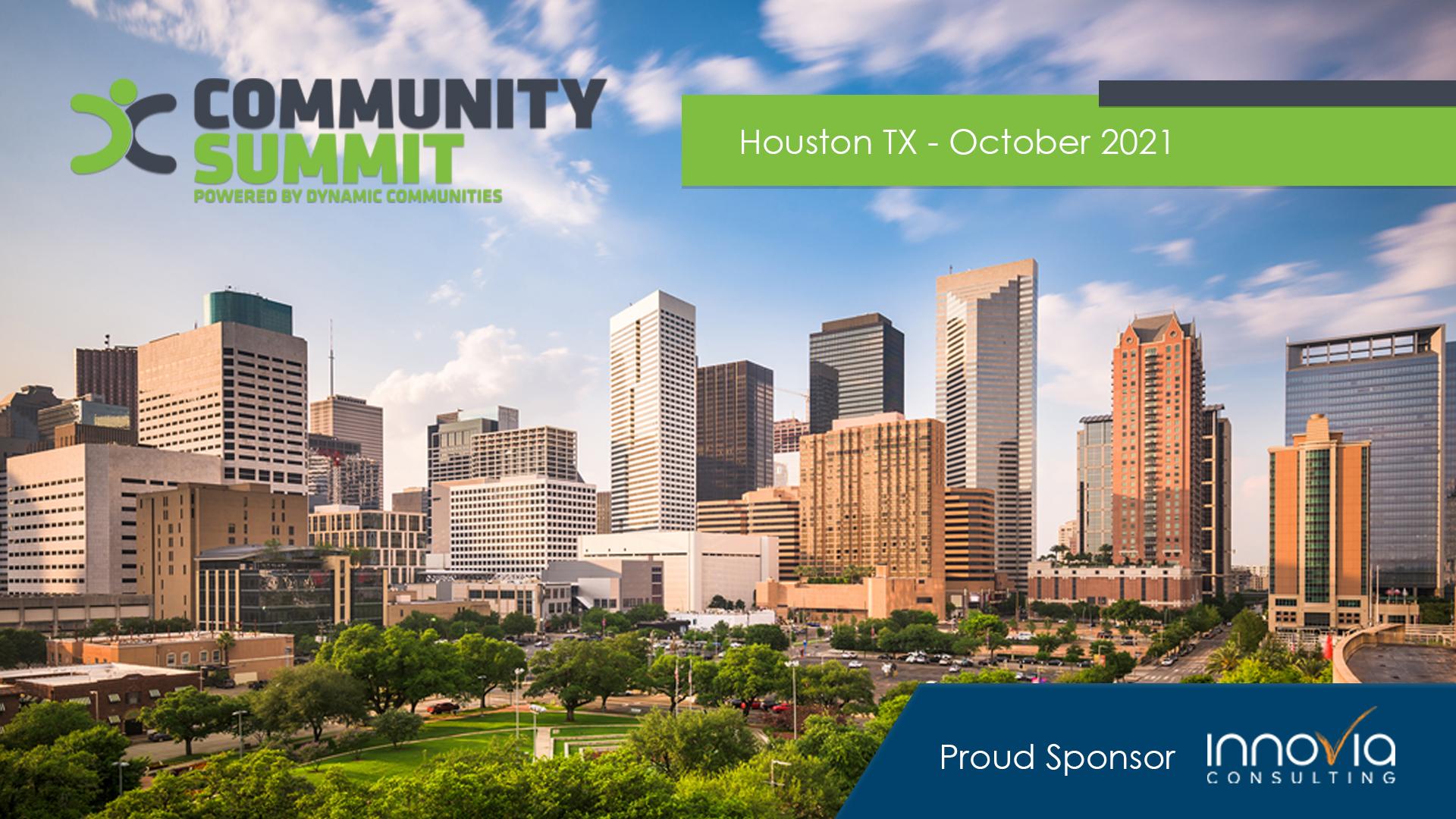 Innovia Presents at Community Summit 2021
