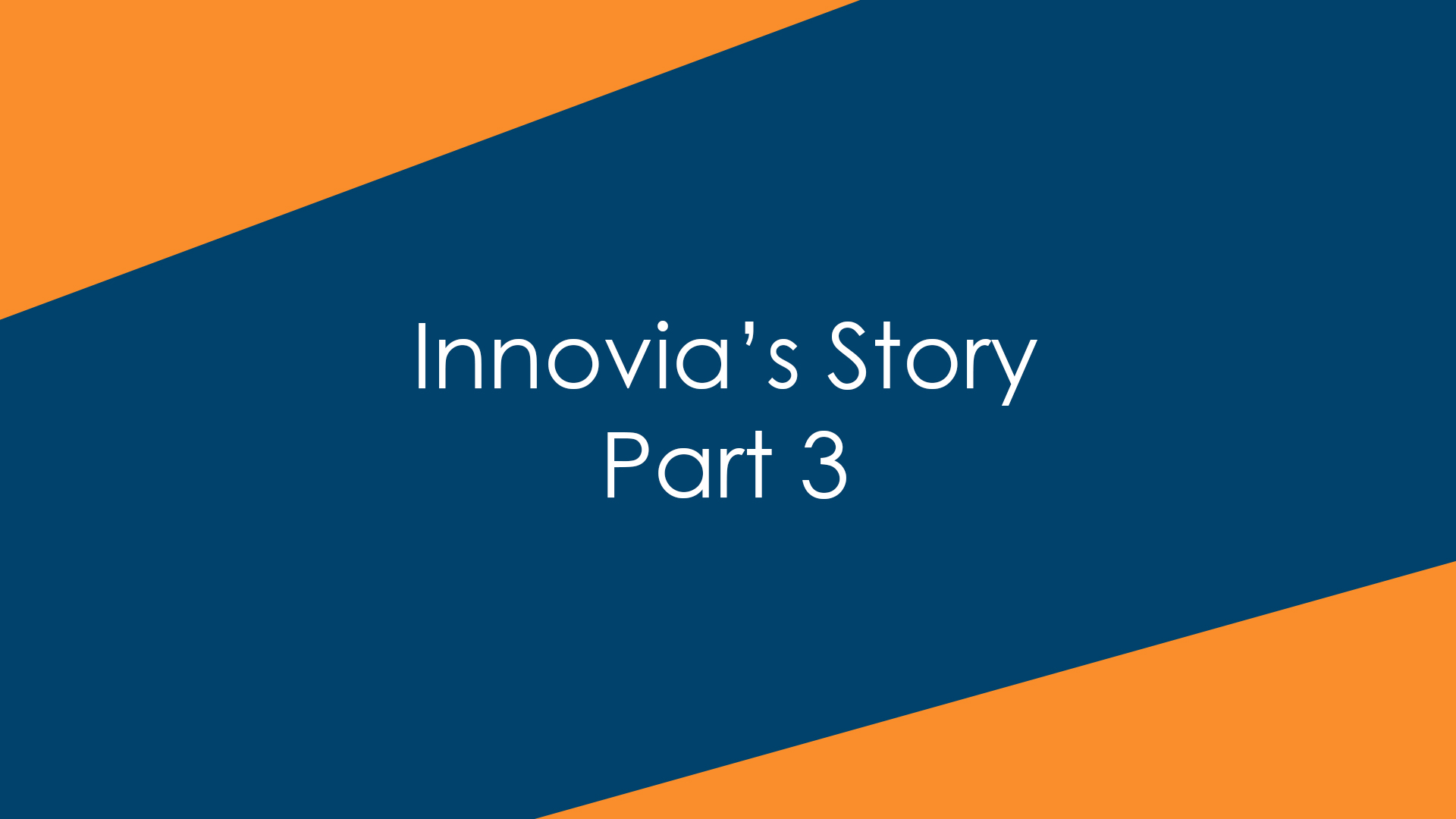 Innovia's Story, Part 3: Becoming Innovia and Leading on the Cloud