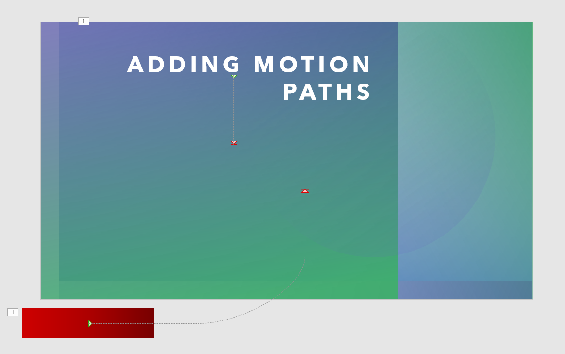 Using Motion Paths in PowerPoint