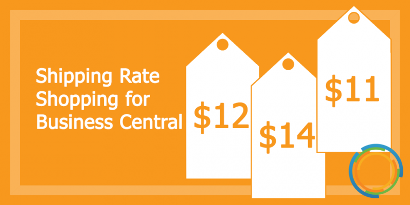Shipping Rate Shopping for Business Central