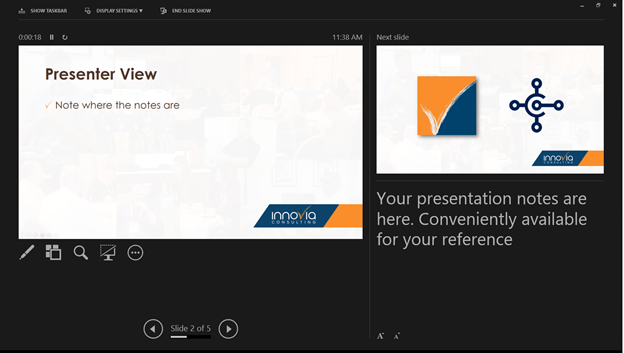 Getting Started with PowerPoint: Using Presenter View