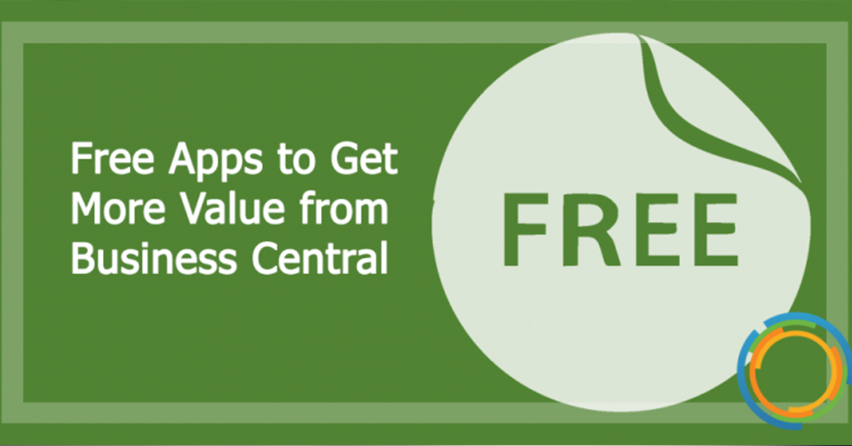 Free Apps to Get More Value from Business Central